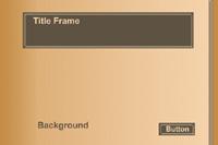 Dark Gold Frame